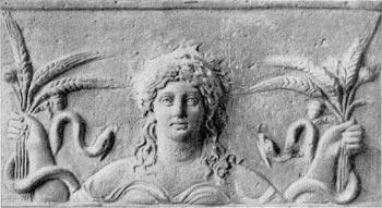 Ceres, diosa de la agricultura
